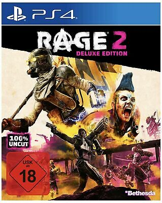 RAGE 2 -- Deluxe Edition (Sony PlayStation 4, 2019)