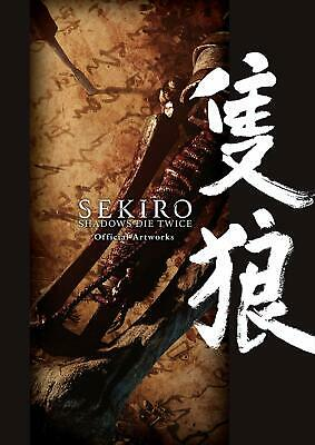SEKIRO SHADOWS DIE TWICE Official Artworks Art Book FREE EXPRESS DELIVERY