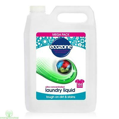 EcoZone Ultra Concentrated Bio Laundry Liquid 166 Washes 5Ltr