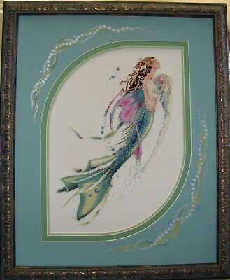 Mermaid of the Pearl Cross Stitch Chart