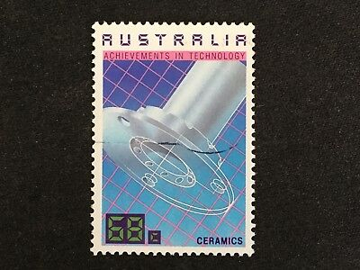 1987 Australian Achievements In Technology 68C Ceramics Stamp - Fine Used