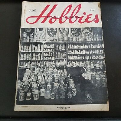 Vintage June 1955 Hobbies The Magazine For Collectors