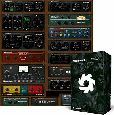 Soundtoys 5 32&64 Bit For Windows - Download After Purchase + Install CD
