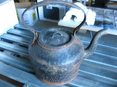 Antique Cast Iron MERTON'S PATENT No 5 5 Quarts Kettle