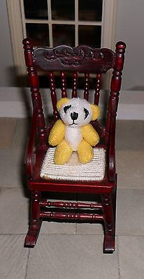 Dolls' House 1/12Th Scale Cuddly Yellow Toy Panda