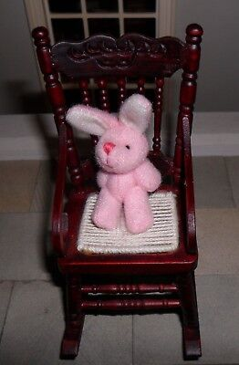 Dolls' House 1/12Th Scale Pink Rabbit