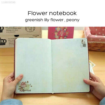 5198 Cloth Floral  Notebook Schedule Book Kids Diary Journal Portable Notebook