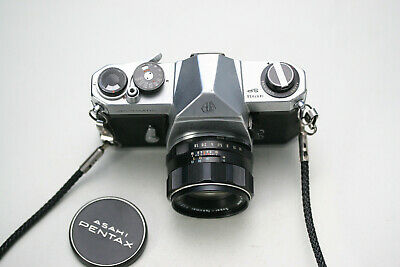 Pentax Spotmatic SP inkl. Takumar 1,8/55mm
