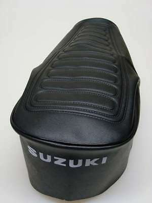 Motorcycle seat cover - Suzuki GT380 & GT550 late