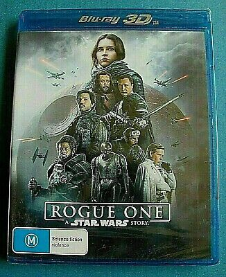 ROGUE ONE A Star Wars Story 3D BLU-RAY NEW SEALED