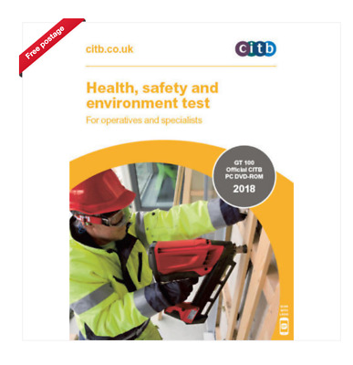 CSCS Health, Safety & Environment Test for Operatives Tests Questions MP4 Format