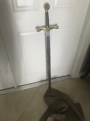 Knights Of The Round Table Swords.23 King Arthur Excalibur Knights Of The Round Table Steel Sword
