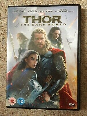 Thor - The Dark World (DVD, 2014)
