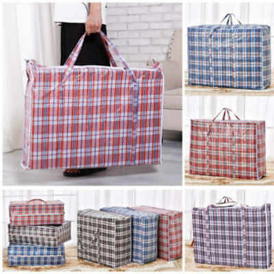 Reusable Laundry Storage Shopping Bags Zipped Jumbo Large Strong Laundry Bags