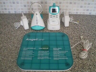 Angelcare AC401 Rechargeable Movement & Sound Baby Monitor + Sensor Pad