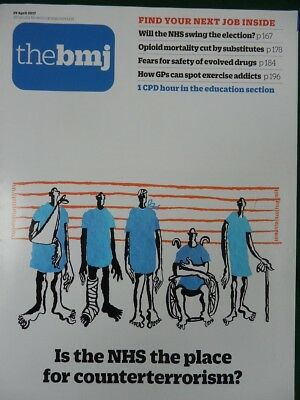 Bmj British Medical Journal 29 April 2017 Is Nhs The Place For Counterterrorism?