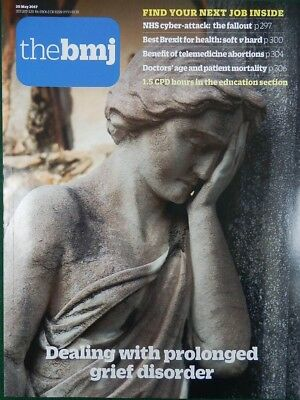Bmj British Medical Journal 20 May 2017 Dealing With Prolonged Grief Disorder