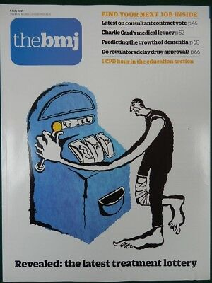 Bmj British Medical Journal 8 July 2017 Treatment Lottery; Consultant Contract