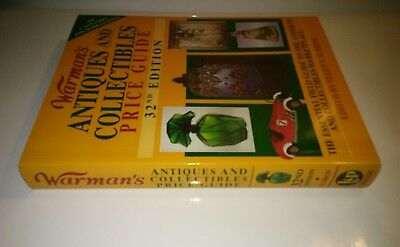 Warmans Antiques and Collectibles Price Guide 32nd edition Ellen T. Schroy new