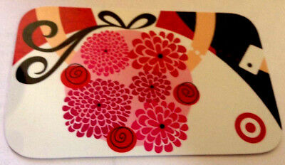 Target 2014 RARE FLOWER Gift Card Collectible Only WITH ZERO BALANCE