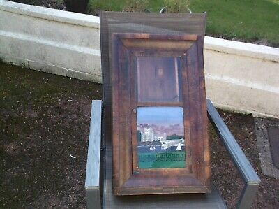 Very Old  Jerome & Co  Wall Clock Case ( Wooden Case Only)For Restoration