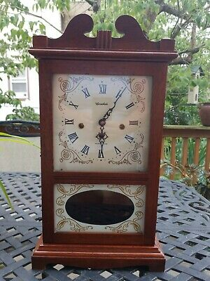 Shelf/Mantle Pendulum Clock Westminster Chimes. German Works by Herschede