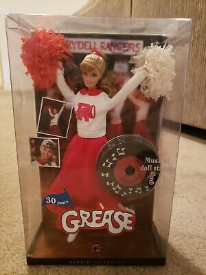 Sandy Grease Cheerleader Barbie Pink Label Collectors Edition 30th Anniversary