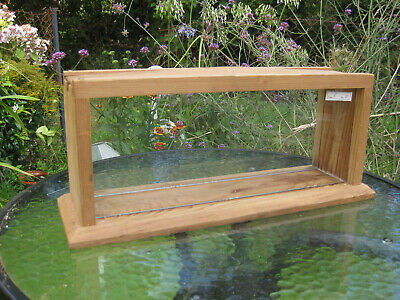 Lovely Cherry Wood Beekeeping Glass Honeycomb / Observation Frame Display