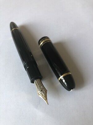 RARE EARLY Montblanc Meisterstuck No149 Fountain Pen 14C Nib 'The diplomat'