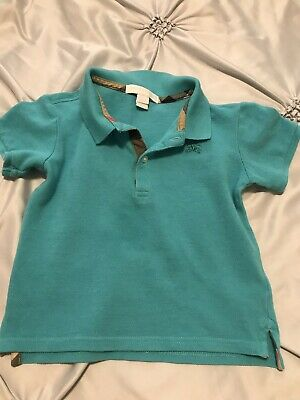 Burberry Toddler Boys Shirt Size 3Y
