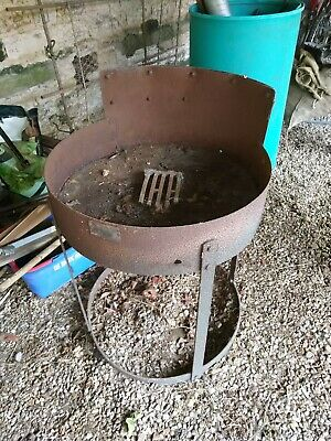Blacksmiths / Farriers Portable Coke Forge with electric fan in used condition