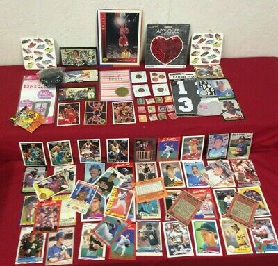 Junk Drawer Mixed Lot Trading Cards, coins, Michael Jordan, Misc #TG3