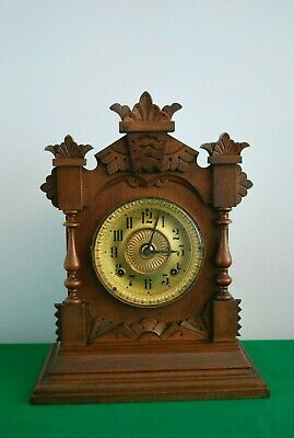 Antique Ansonia 8 Day Tivoli Mantle Clock.
