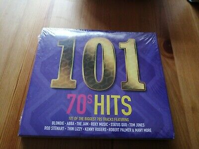 101 70s hits  5 x cd  new sealed