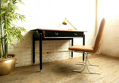 Vintage Retro 60s Mid Century Modern G Plan 2 Drawer Desk Console Writing Table
