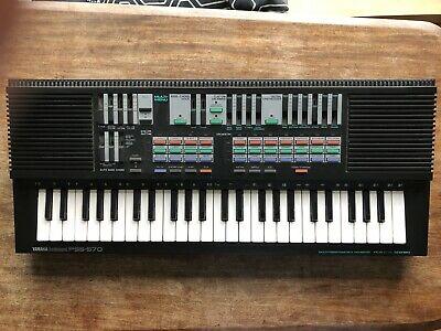 Yamaha Portasound PSS-570 Multi-Programmable Keyboard 49 Keys