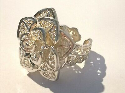 Lovely Large Flower Ring - Metal Detecting Find