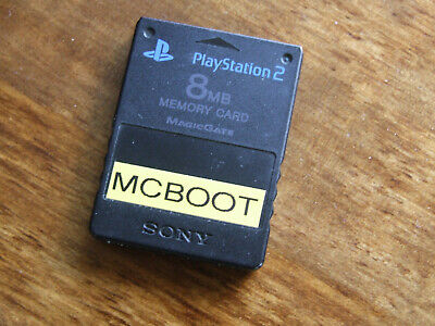 Sony PlayStation2 PS2 8MB Memory Card with FREE MCBOOT 1.95 FMCB OPL multi-boot
