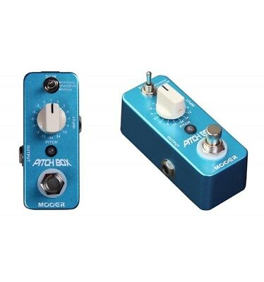 Mooer Pitchbox - Pitch shifter 3 modes pour guitare électrique