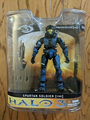 HALO FIGURE ROGUE Armor Pack WHITE Spartan Soldier Rogue