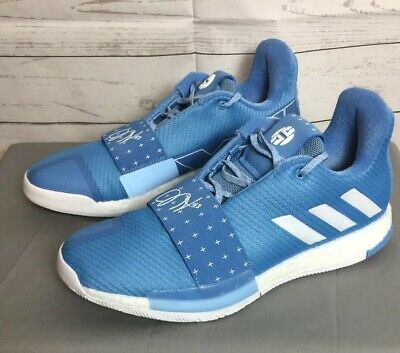 Adidas James Harden XIII Vol. 3 Men's Size 11 Basketball Shoes Baby Blue D97169