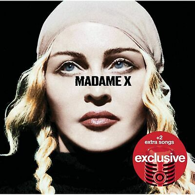 Madonna- Madame X Deluxe Cd Usa Target Store Exclusive Includes 2 Extra Songs