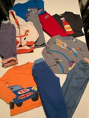 Mini Baby Boden Gap Gymboree Boys Lot Pants Shirts 5 Outfits Size 2-3 -Nice!
