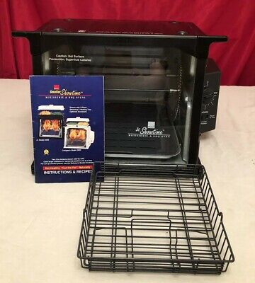 Ronco Showtime Compact Jr Rotisserie Model 2500 Black