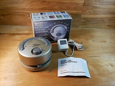 Sharper Image Ultra Heart and Sound Soother With AC Adapter