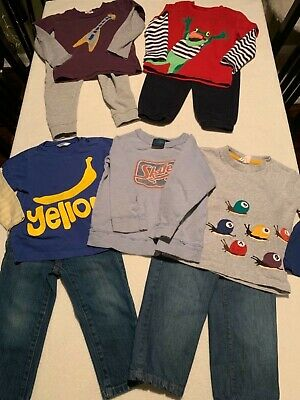 Mini Baby Boden and Next Boys Lot, Four Pants Five Shirts Size 2-3 Nice!