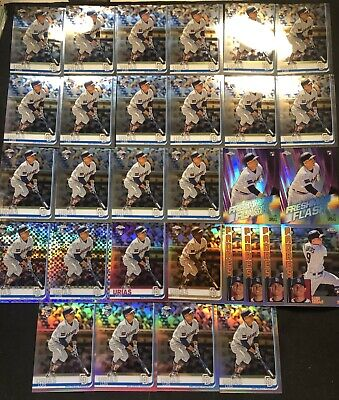 2019 Topps Chrome LUIS URIAS RC #141 Sepia XFractor Pink Refractor ROOKIE LOT