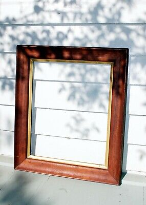 Antique Edwardian Sleeved Timber Picture Frame