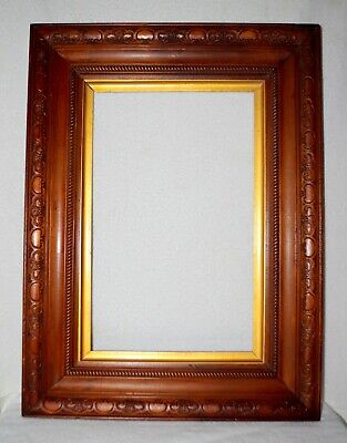 Antique Victorian Sleeved Timber Picture Frame