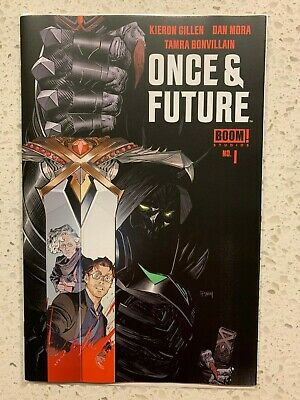 ONCE AND FUTURE #1 1st print BOOM STUDIOS NM Near Mint Kieron Gillen 2019 die &
